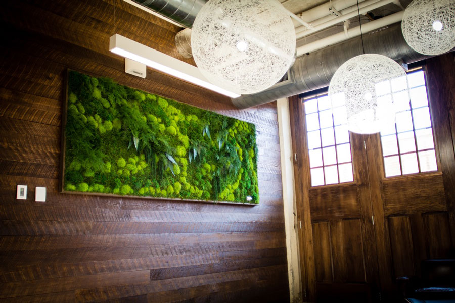 Artisan Moss Green Wall Hanging In Oklahoma