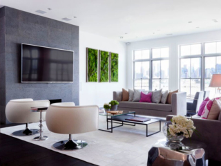 Artisan Moss commissioned residential green wall art for JSE Design.
